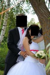 Свадебное платье,  туфли и украшения на машину