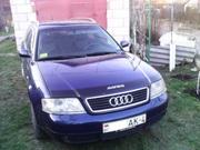 Ауди А6,  С5 цвет- синий, МКП,  авто в хорошем состоянии. СРОЧНО!!!